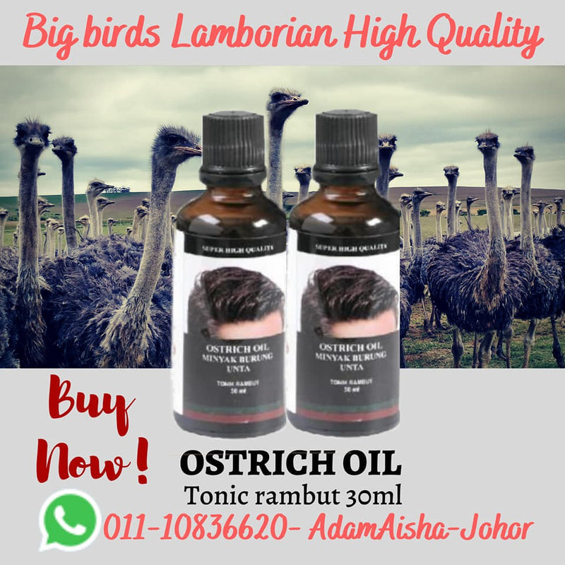 Ostrich Oil For Hair 30ml