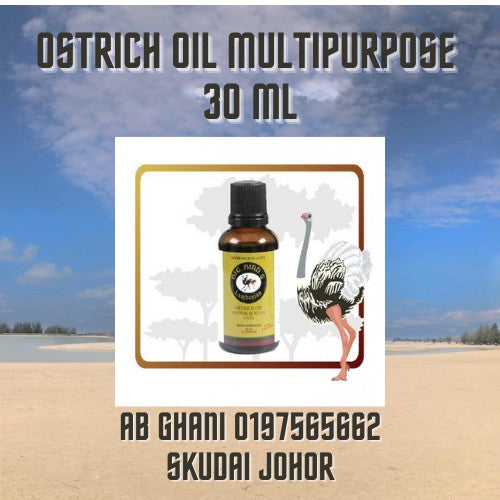 Ostrich Oil Multipurpose 30ml