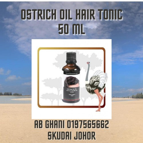 Ostrich Oil Hair Tonic 50ml