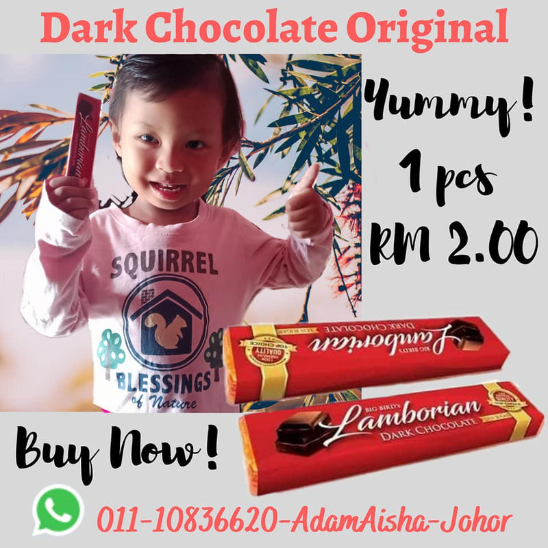 Dark Chocolate Compound 1 Bar Original