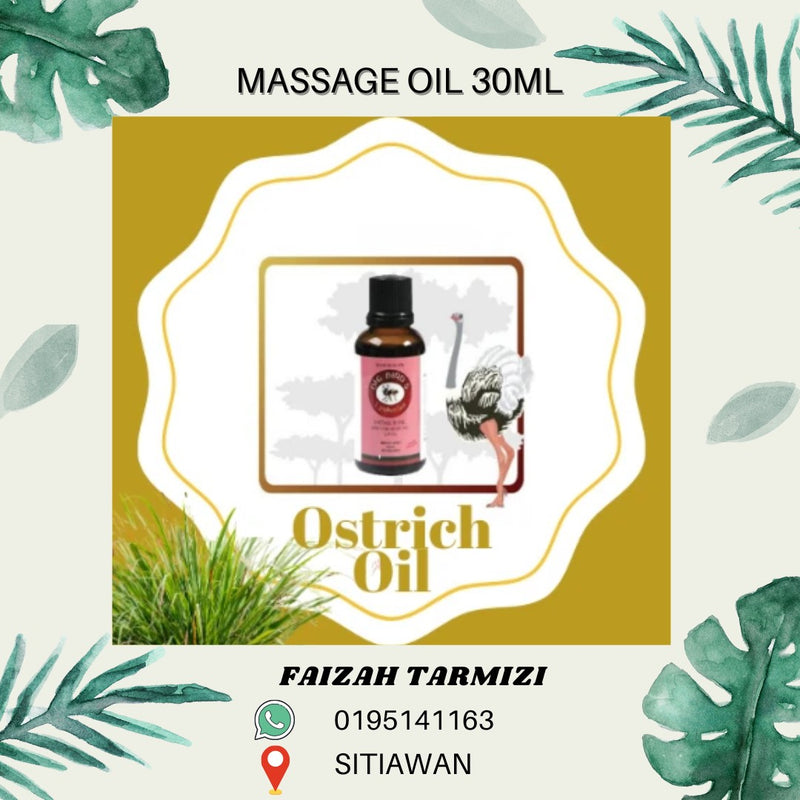 Massage Ostrich Oil 30ml