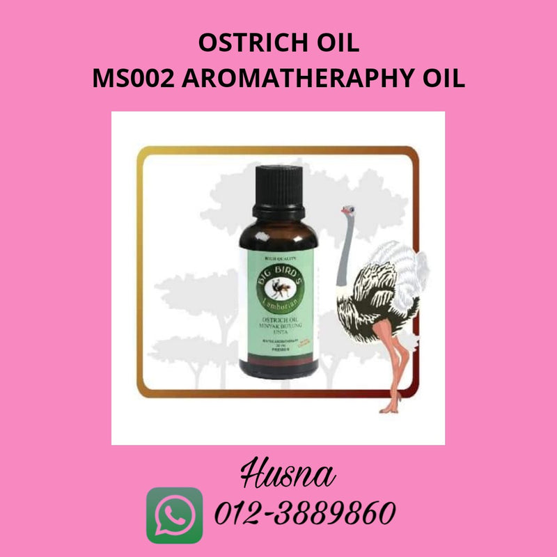 Ostrich Oil Aromatheraphy 30ml