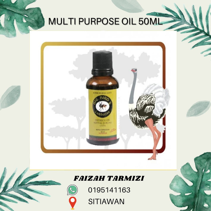 Multi Purpose Ostrich Oil 50ml