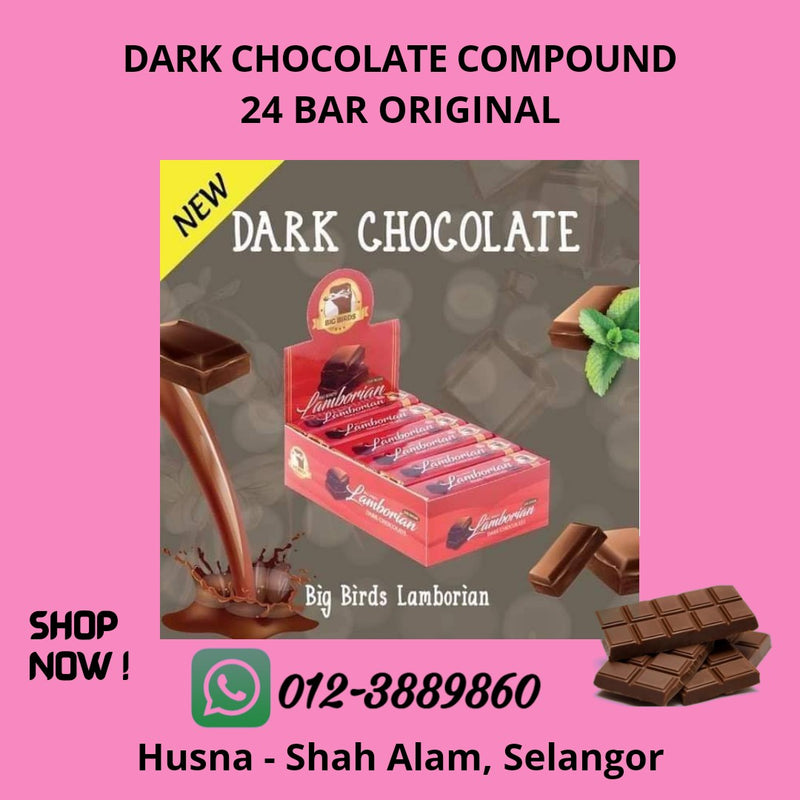 Dark Chocolate Compound 24 Bar Original