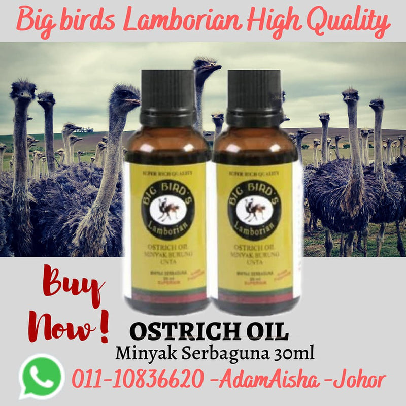 Ostrich Oil Multi Purpose 30ml