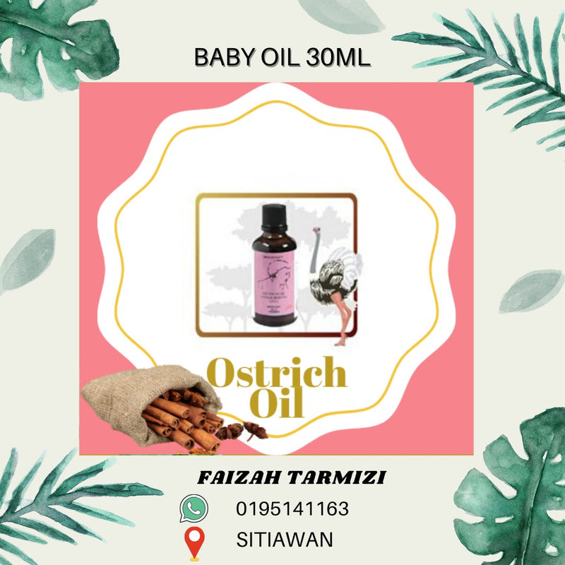 Ostrich Oil For Baby 30ml