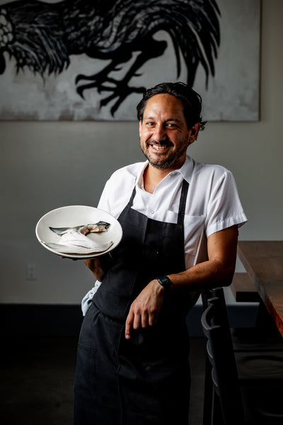 Chef Nick Cobarruvias of Son's Addition San Francisco CA