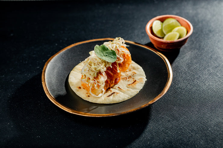 Californios Baja Style Fish Taco with Lime