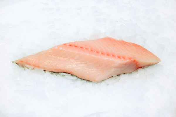 local black cod fillet on ice