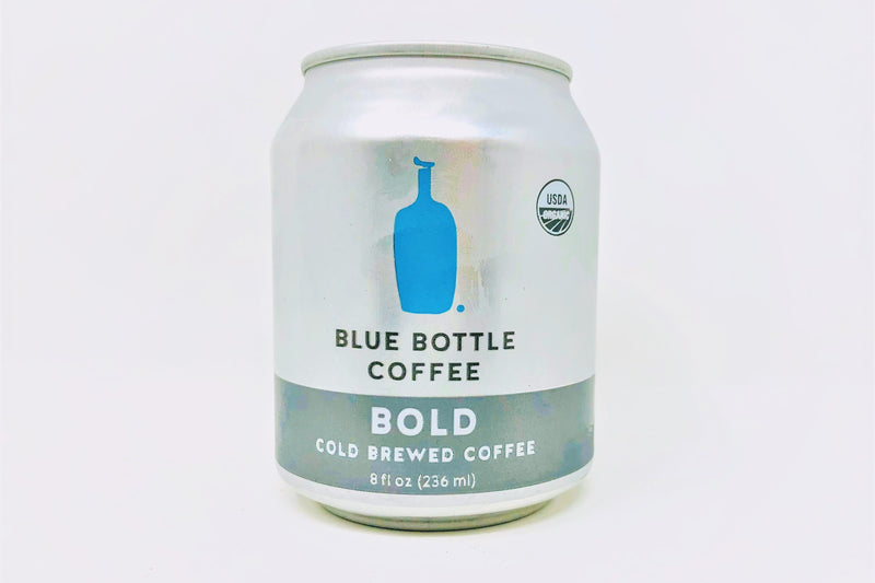 blue bottle bold cold brewed coffee