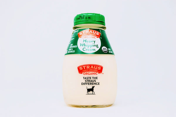 Straus Heavy Cream Organic