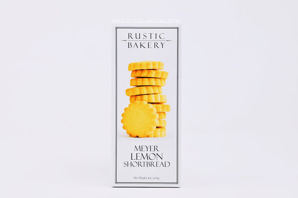 Meyer Lemon Cookies shortbread rustic bakery