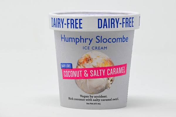 vegan coconut salty caramel ice cream