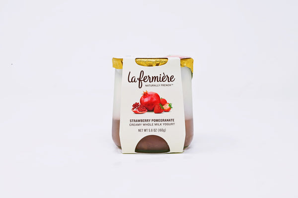 La Fermiere Strawberry Pomegranate yogurt
