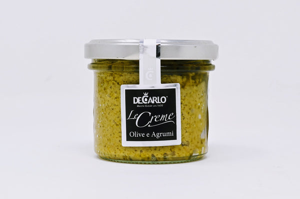 DeCarlo Green Olive and Citrus Spread