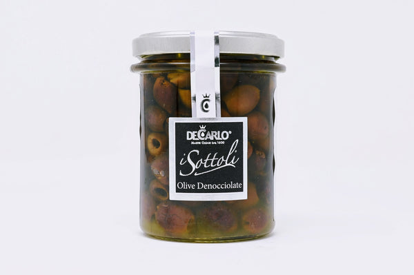 DeCarlo Pitted Lecchina Olives