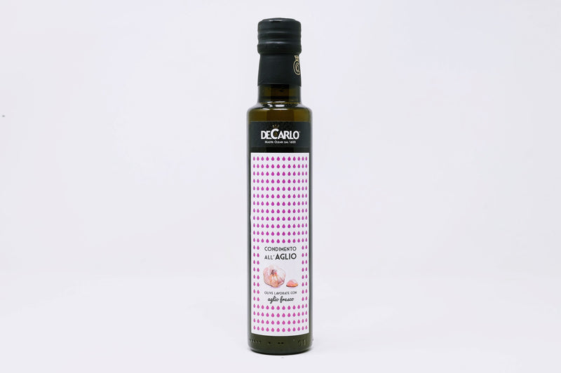 decarlo garlic infused olive oil