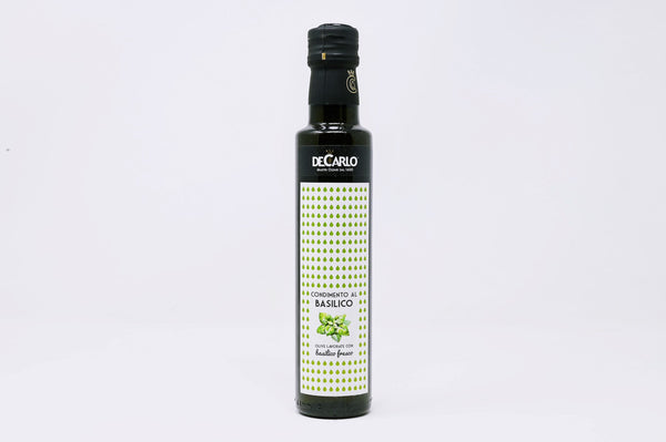 decarlo basil infused olive oil