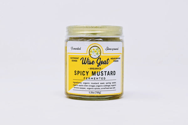 Wise Goat Spicy Mustard