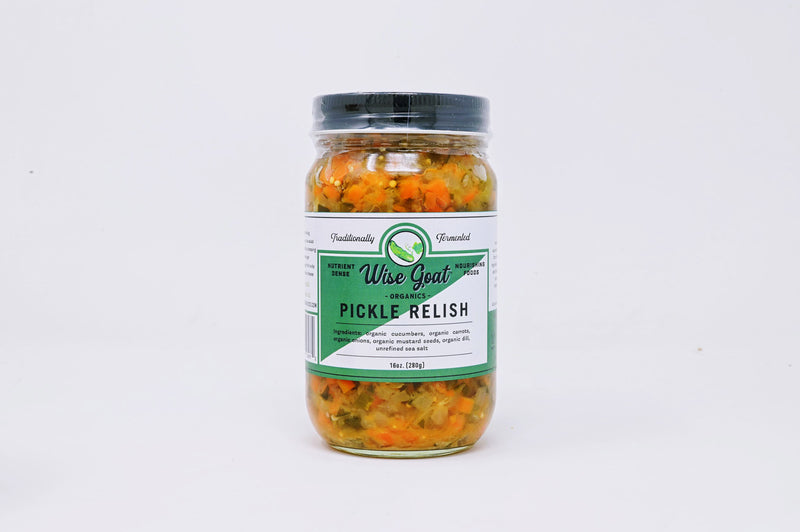 Wise Goat Pickle Relish