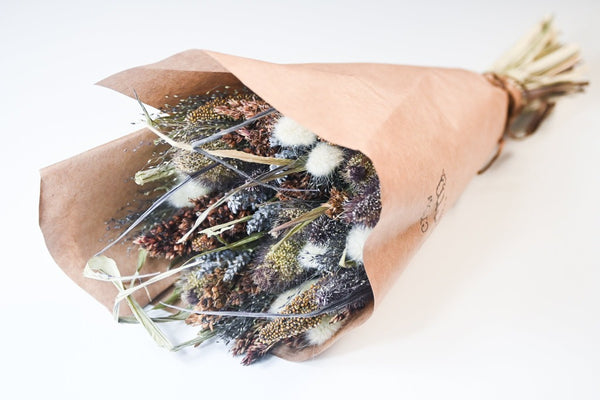 floral dried bouquet