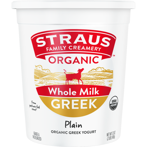 straus organic whole milk greek yogurt