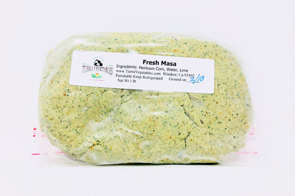 Tierra Fresh Green Corn Masa