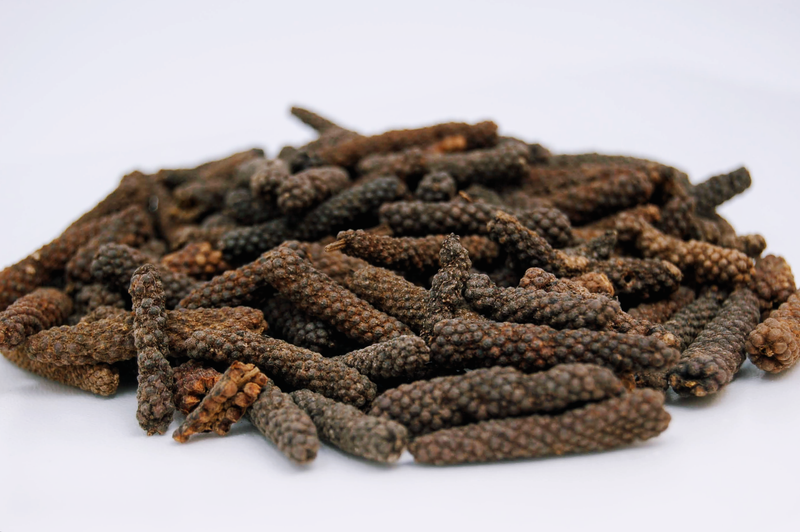 long pepper in a pile