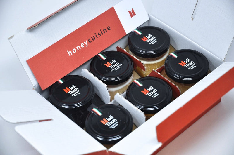mieli thun honey set in a box