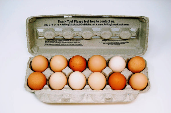 Eggs (Rolling Oaks Ranch) - Dozen