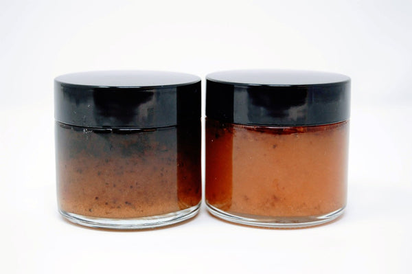 white and black truffle honey set