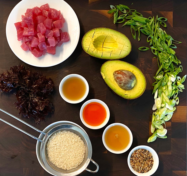 Tuna Poke Meal Kit For Two