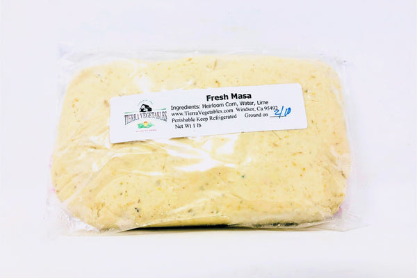 Tierra Fresh Yellow Corn Masa