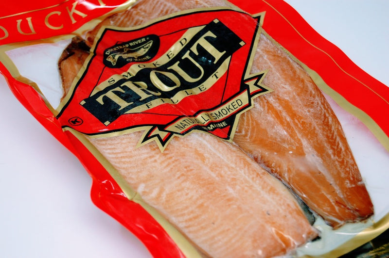 frozen hot smoked trout maine