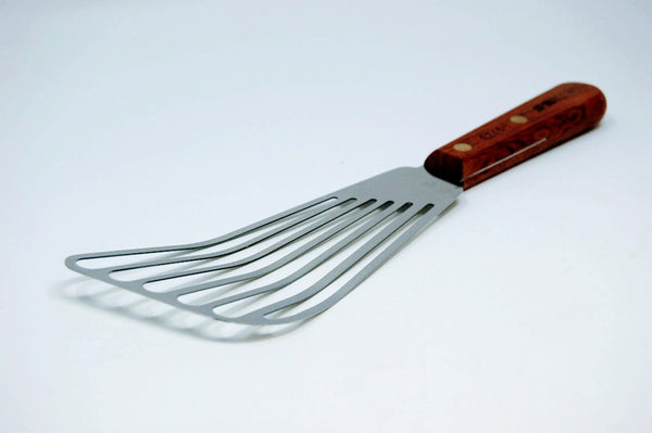 Wood Handle Fish Spatula/Turner