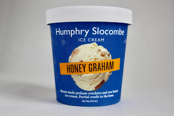 Honey Graham Ice Cream - 1 pint