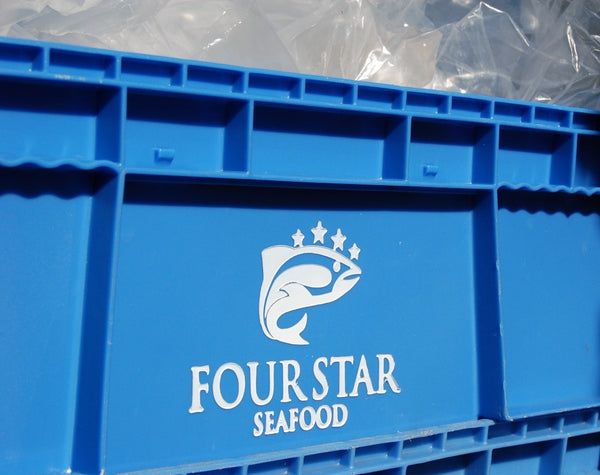 four star seafood blue box