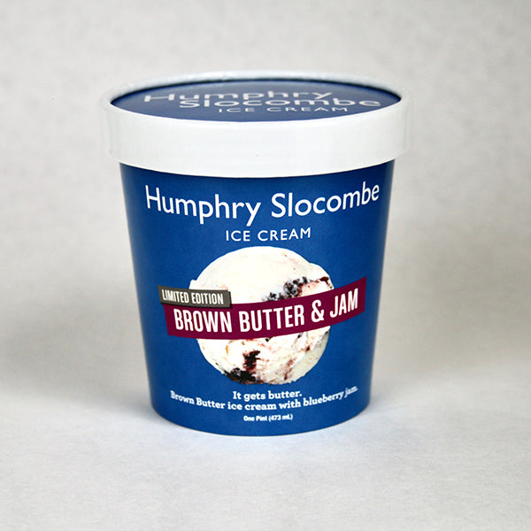 Brown Butter and Jam Ice Cream - 1 pint