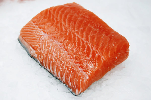 Local Wild King Salmon 2pc 6oz portions