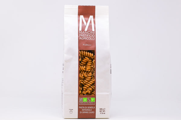 Mancini Fusilli Integrali whole wheat