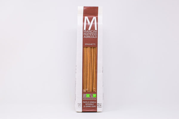 Mancini Spaghetti Integrali whole wheat