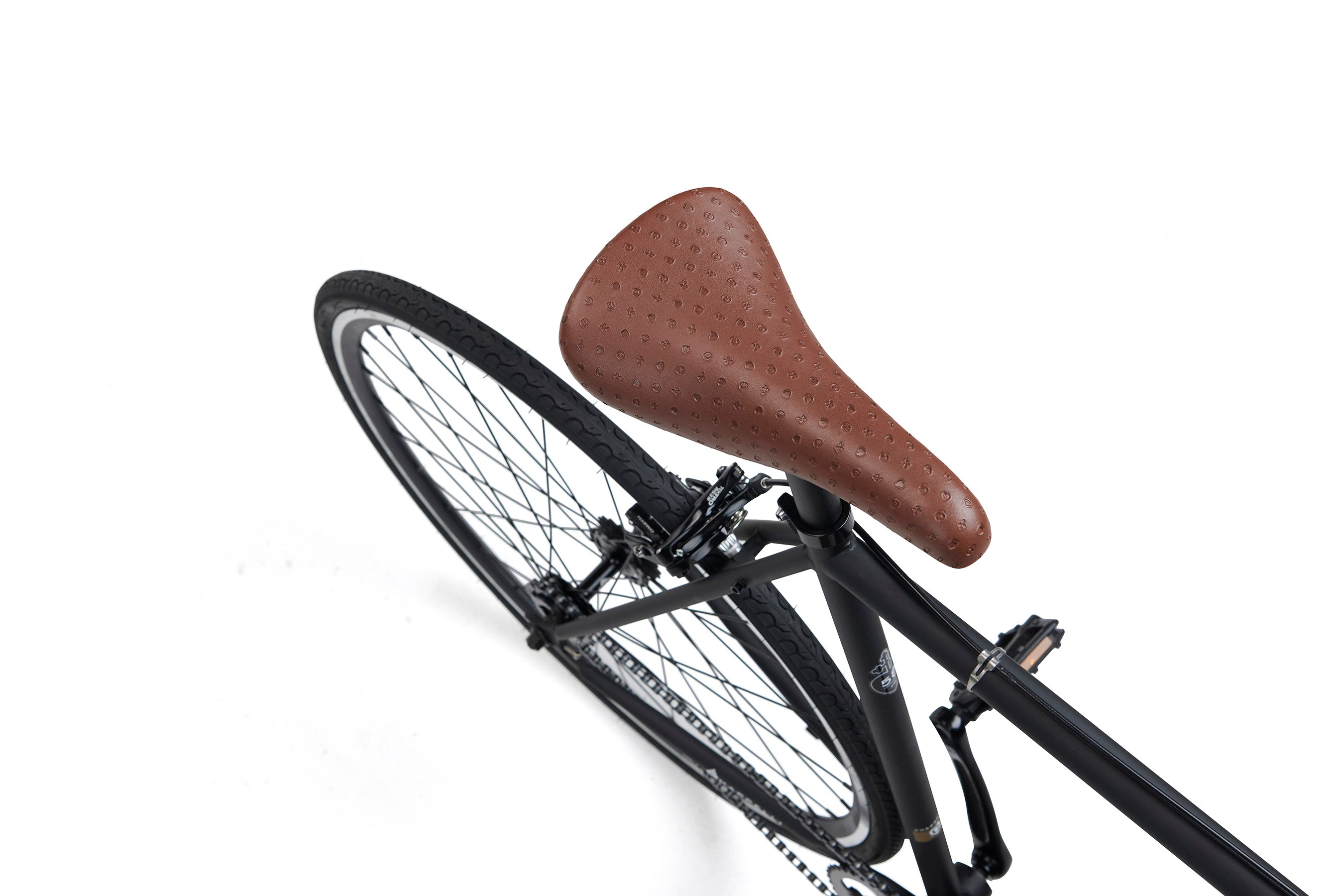 modern single speed nero saddle