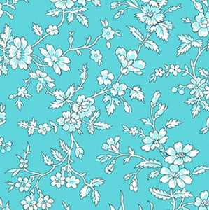 Queen Annes Lace  Teal - 10163-84 - Garden Party