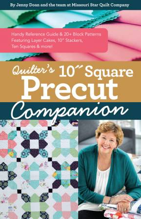 Quilters 10in Square Precut Companion Book