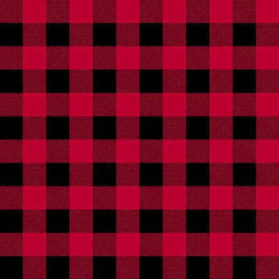 Man Cave  - Red Buffalo Plaid - 51896-1  - Windham
