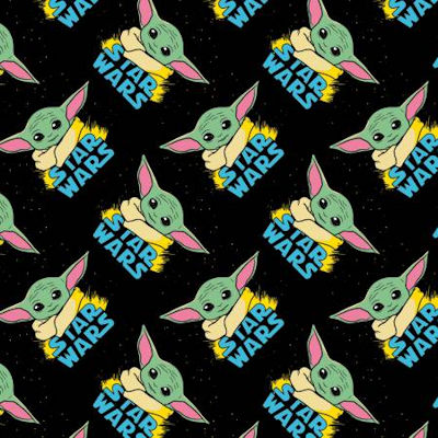 73800223-1 Star Wars Mandalorian The Child Baby Yoda - Camelot Fabrics