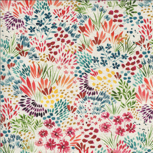 Moody Bloom 8444-11D Multi - Moda Fabrics