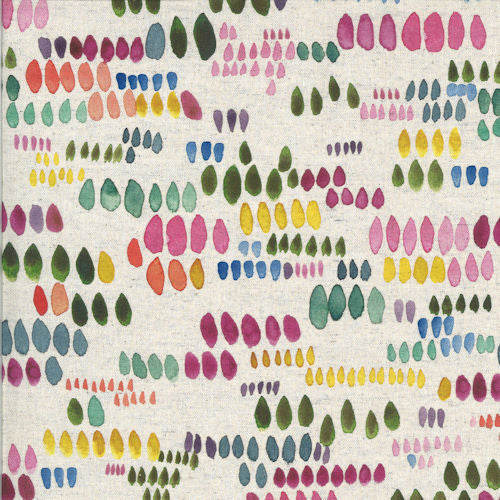 Moody Bloom 8446-11D White - Moda Fabrics