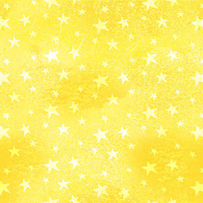 Monkey Business - Stars - Yellow - 9313-44 - Henry Glass Fabrics