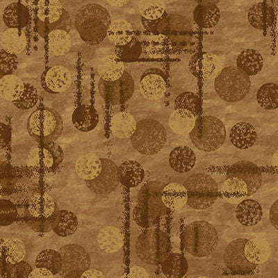 9570-35 Brown - Jot Dots - Blank Quilting